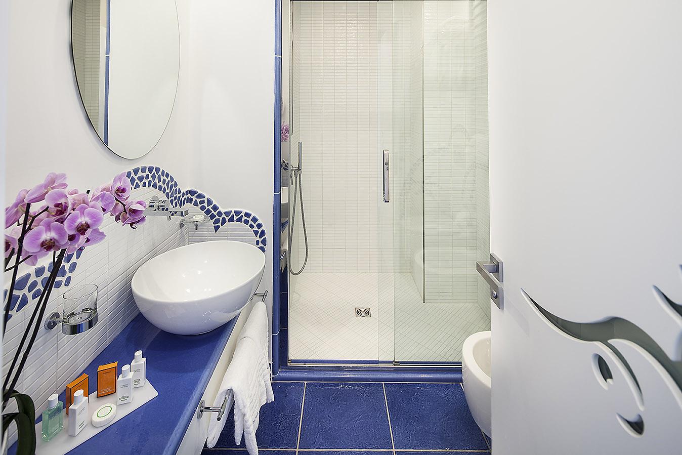 Contract per hotel - Cabina doccia su misura - Ischia Blu Resort